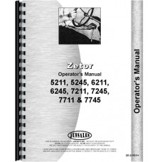 Zetor 5211 Tractor Operators Manual