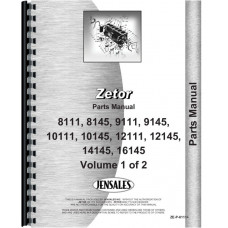 Image of Zetor 8111 Tractor Parts Manual