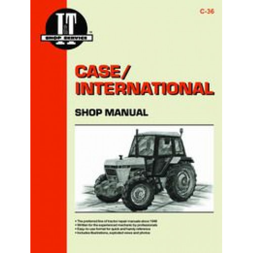 Case 2094 Tractor Service Manual  It Shop