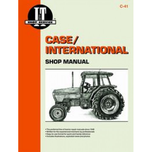 Case IH 5140 Tractor Service Manual IT Shop