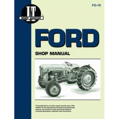 Ford Sherman 54F Backhoe Attachment Parts Manual FO-P-SHER 54F+