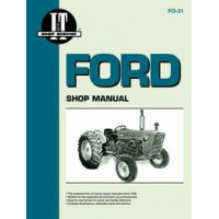 Ford 4000 Tractor Service Manual (1965-1975) (3 Cylinder) (IT Shop)