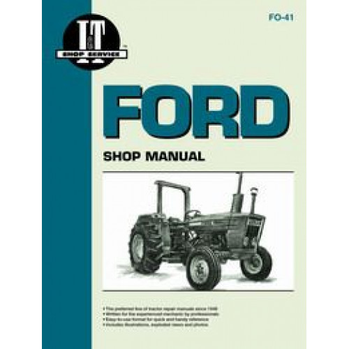 ford 2600 tractor service manual it shop rh jensales com Ford 2600 Tractor Owners Manual Ford 2600 Tractor Fluids