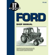 Ford 5000 Tractor Service Manual (1965-1975) (Super Major) (IT Shop)