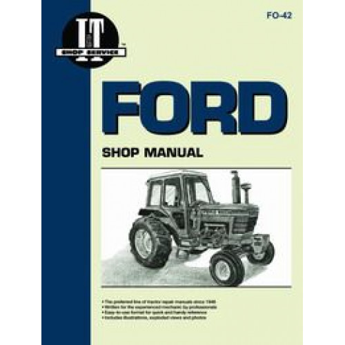ford 5000 tractor service manual 1965 1975 super major. Black Bedroom Furniture Sets. Home Design Ideas