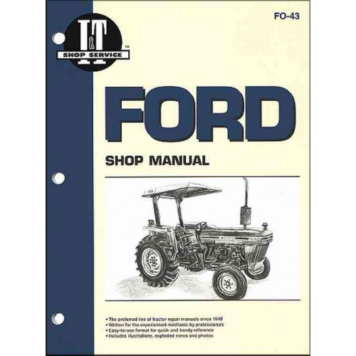 Ford 3910 Tractor Service Manual  It Shop