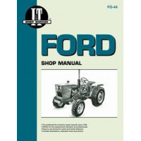 Ford 1710 Tractor Service Manual (IT Shop)
