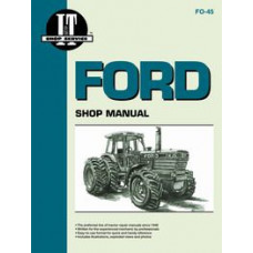Ford TW 25 Tractor Service Manual (IT Shop)