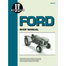 Ford 3930 Tractor Service Manual (IT Shop)