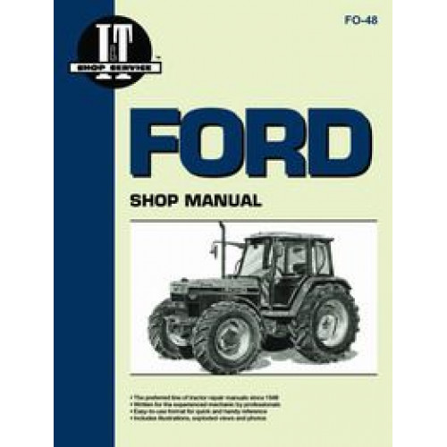 ford 7740 tractor service manual it shop rh jensales com Ford Truck Wiring Diagrams ford 7740 tractor wiring diagram