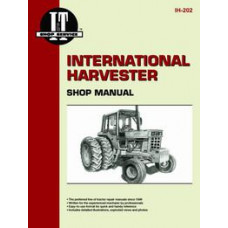 International Harvester 186 Hydro Tractor Service Manual (IT Shop)