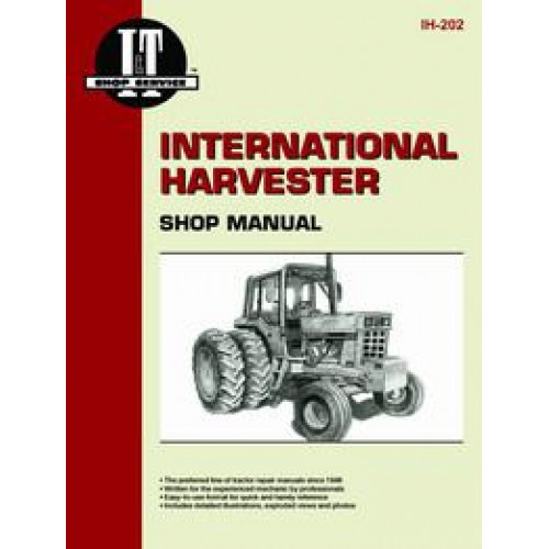 farmall 1466 tractor service manual it shop. Black Bedroom Furniture Sets. Home Design Ideas