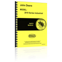 John Deere 2010 Industrial Tractor Parts Manual