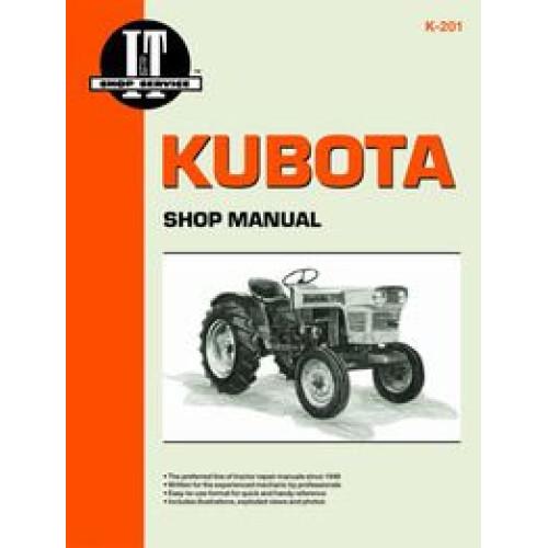 kubota l295dt tractor service manual it shop rh jensales com kubota l295dt service manual L295DT Loader