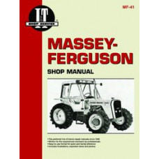 Massey Ferguson 670 Tractor Service Manual (IT Shop)