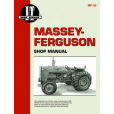 Massey Ferguson 255 Tractor Service Manual (IT Shop)