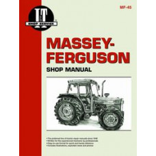 Massey Ferguson 398 Tractor Service Manual (IT Shop)