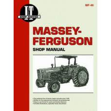 Massey Ferguson 355 Tractor Service Manual (IT Shop)