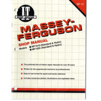 Massey Ferguson 1020 Tractor Service Manual (IT Shop)