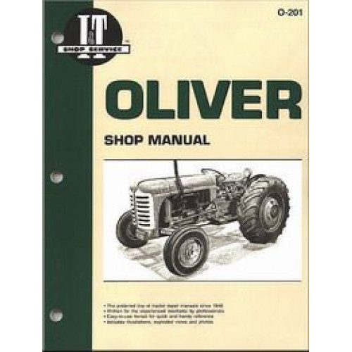 oliver super 55 tractor service manual it shop rh jensales com oliver super 55 manual pdf oliver super 55 manual pdf