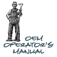 International Harvester 45 Cultivator Operators Manual