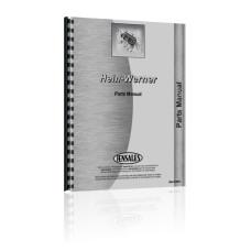 Hein-Werner C14B Backhoe Parts Manual