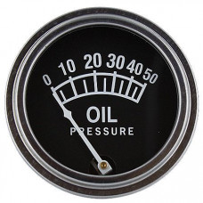 International Harvester Universal Oil Pressure Gauge (0 - 50 PSI) (ABC082)