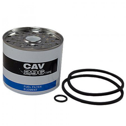 massey ferguson fuel filter element with seals for cav / simms fuel filters  | abc1421