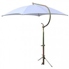 Massey Ferguson Deluxe White Umbrella with Brackets (ABC2362)