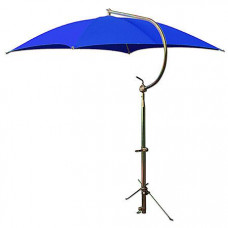 Massey Ferguson Deluxe Blue Umbrella with Brackets (ABC2366)