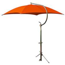 Allis Chalmers Deluxe Orange Umbrella with Brackets (ABC2372)