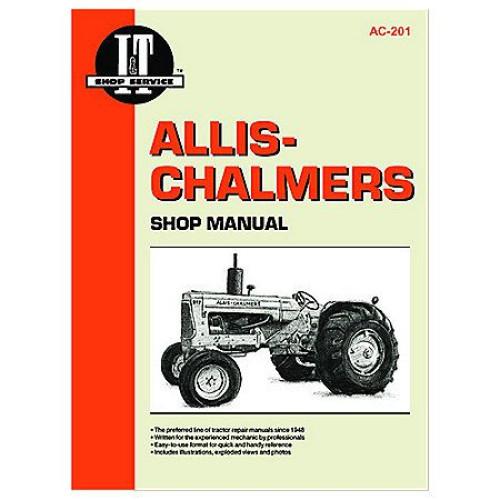 Allis Chalmers D17 Tractor Service Manual  It Shop