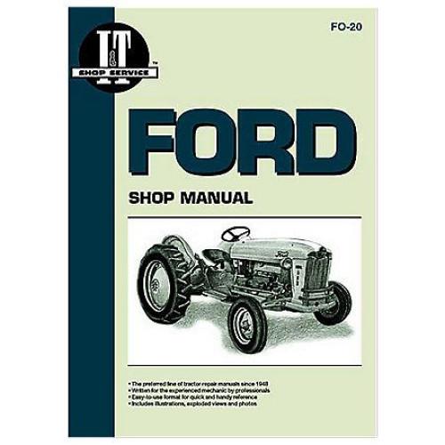 Ford 501 600 601 700 701 800 801 900 901 1801 2000 4000 SERVICE SHOP MANUALS 2