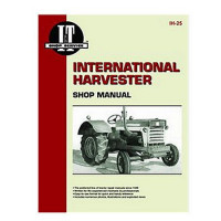 International Harvester 560 Tractor Service Manual (IT Shop)
