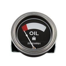 International Harvester Oil Pressure Gauge (0 - 45 Psi) - Dash mount