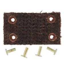 John Deere Belt Pulley Brake Lining Kit With Rivets (JDS1893)