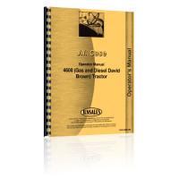Case 4600 Tractor Operators Manual
