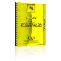 Caterpillar D4D Crawler Parts Manual (SN# 60J4376 and Up)