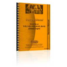 White 2-115 Detroit Diesel Engine Service Manual (Mighty Tow)