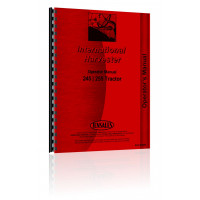 Case-IH 255 Tractor Operators Manual