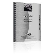 New Idea 710 Combine Parts Manual