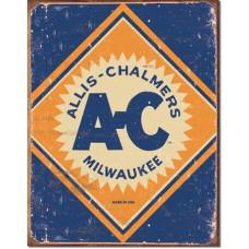 Allis Chalmers Rustic Tin Sign T-shirt