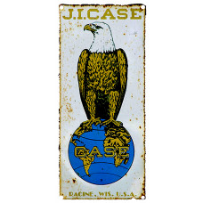 Case Eagle on Globe Logo T-shirt