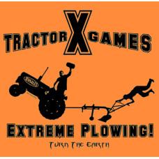 Extreme Plowing Orange T-shirt