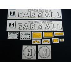 International Harvester H Mylar Cut Decal Set (I130)