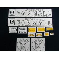 International Harvester Super M Mylar Cut Decal Set (I149)