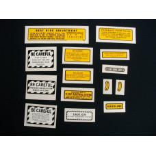 Farmall 560, 660 gas Mylar Cut Decal Set (I272)