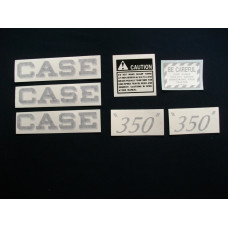 Case Case Engine Mylar Decal Set