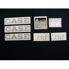 Case Case Engine Mylar Decal Set