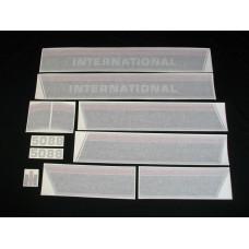 Farmall 5088 (stripes & model number only) Vinyl Cut Decal Set (VI273)